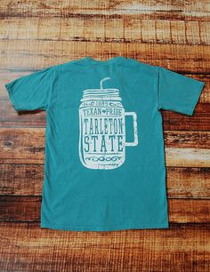 We love frockets, you love frockets, we all love frockets. Now show your love for TSU in this seafoam comfort colors t-shirt!