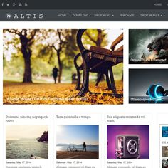 Altis is template for blogger, which is highly responsive and perfect for magazine based websites and very user-friendly. Altis is a free blogger template