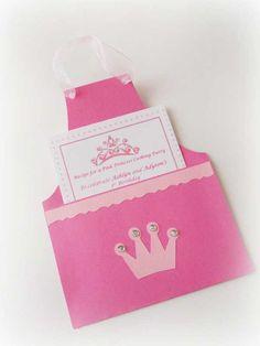 invitaciones originales para una fiesta temática de princesas