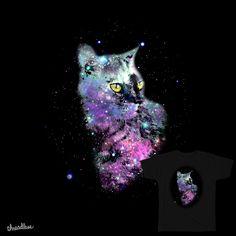 Nebula Cat on Threadless