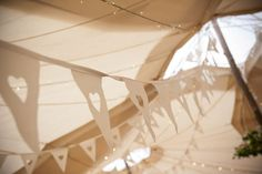 Today's real wedding belongs to Cat and Andy, a fun, laidback couple from Herefordshire who took their festival wedding inspiration to heavenly lengths with… Festival Style, Festival Wedding, Festival Fashion, Garden Bunting, Wedding Bunting, Herefordshire, Garden Wedding, Real Weddings, Brides