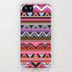 Aztec #5 iPhone & iPod Case by Ornaart - $35.00