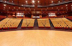 Centro de Congresos - Congress Center - Auditorium 2.242 pax - Madrid - http://www.centrodecongresosprincipefelipe.com/espacios/auditorio/