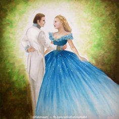 Oil painting by Fatima Nabil visit my facebook page facebook.com/artistFatimaNabil and my instagram @fatimaart  #disneyart #love #look #old #blue #cinderella #dance #dancer #dancing #disney #disneyfanart #disneypixar #disneyprincess #disneyprincesses #dress #fairytail #fairytale #lilyjames #movie #moviefanart #movies #princess #princesscinderella #thedress #cinderellashoe #cinderelladisney #cinderellaprincess #disneyfrozen #cinderella2015