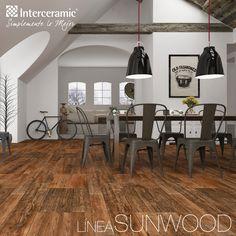 Un espacio amplio y limpio es posible con la clásica combinación entre la madera y los recubrimientos neutros. Define tu estilo con los accesorios decorativos y mobiliario.