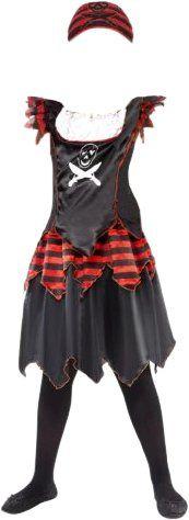 Smiffy's Disfraz de pirata calavera (niña): precios | Disfraz de pirata para niños | Disfraz infantil - Comparativa en idealo.es