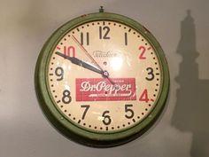 Vintage Dr. Pepper Clock   $325  Dealer #458  Lost. . .Antiques 1201 N. Riverfront Blvd. Dallas, TX 75207  Monday - Saturday: 10am - 5pm Sunday 11am - 5pm  Find it all at Lost. . .Antique