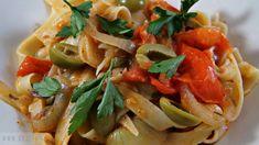 Recept: Pasta met verse Ansjovis Tomatensaus en Kappertjes