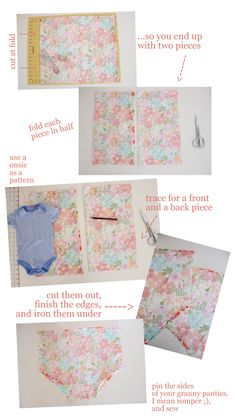 Love this Smocked #Baby #Romper #Tutorial from delia creates http://www.lowpricefabric.com/c-1863-quilting-cotton-fabric.aspx