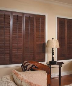 Wooden Shutters Norman Wood Plantation Shutters ~ Prefer the white blinds! Interior Window Shutters, Wooden Shutters, Interior Windows, Wooden Shutter Blinds, Wood Blinds, House Blinds, Blinds For Windows, Best Interior Paint, Interior Design