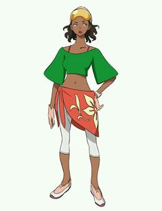 Girl outfit ref insp clothes dark skin black baskets green