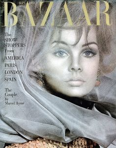 The 60s Bazaar — Jean Shrimpton on the September 1964 cover of...