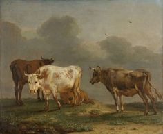 Vier koeien in de wei, Paulus Potter, 1651