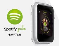 A new, personal music experience. I've developed an Apple Watch concept for making Spotify more personal, more advanced and a more interactive experience.