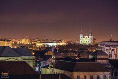 Oradea privita de sus seara | Oradea in imagini