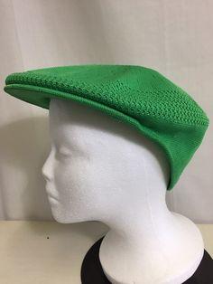 Kangol Cap Emerald Green Tropic 504 Ventair Large Golf Sun Hat 5722c74109eb