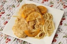 Meyer Lemon Chicken Francese