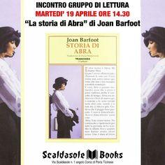 """Martedi 19/04 ore 14.30 Gruppo di lettura """"La so storia di Abra"""" bit.ly/StoriaAbra"""