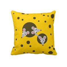 Cute childrens illustration of three playful mice peeking out of cheese holes. Cheese Cartoon, Happy Kids Quotes, Pet Mice, Drawing For Kids, Children Drawing, Cartoon Kids, Diy For Kids, Cute Kids, Kids Room