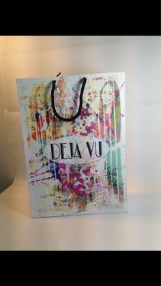 Shopping Bag design for a clothing brand
