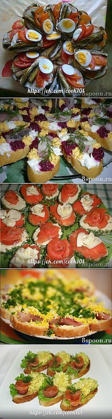 Sandwiches for the holiday - Simple recipes Ovkuse.ru