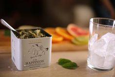 Pure Ηappiness: a crisp breeze in a glass. Ideal for hot summer weekends!  http://www.anassaorganics.com