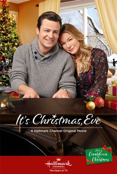 Its a Wonderful Movie - Your Guide to Family and Christmas Movies on TV: It's Christmas, Eve - a Hallmark Channel Countdown to Christmas Movie starring LeAnn Rimes & Tyler Hynes! Hallmark Channel, Films Hallmark, Hallmark Holiday Movies, Hallmark Weihnachtsfilme, Christmas Eve Movie, Christmas Shows, Christmas Countdown, Christmas Christmas, Primitive Christmas