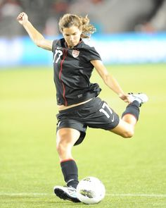 Tobin Heath. Would genuinely love to sit down and just talk football and God with this young lady.