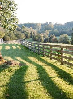 Board fence is the singular most evocative thing about a farm for me. Board fence is t Country Fences, Country Farm, Country Life, Country Living, Country Roads, House In The Country, Rustic Fence, The Farm, Farm Fence