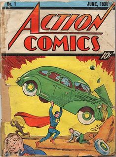 Superman Action Comics  No. 1 (1938) The one that started EVERYTHING!!!!