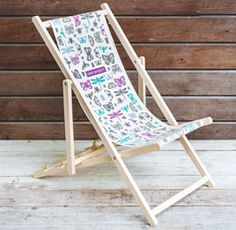 Kids Wooden Deck Chair