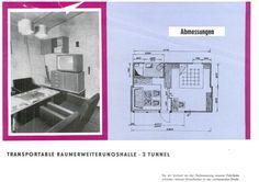 Die REH - ein Unikum der DDR-Architektur…Transportable Raumerweiterungshalle: Ein Wohnzimmer mit: allem. Sofa, Couchtisch, Fernseher, kleines Glück auf kleinstem Raum – und trotzdem ist die REH inzwischen größtenteils verschwunden. Umso schöner, dass Valeska Hageney dieses tolle Unikum der DDR-Architektur wieder zugänglich macht. Noch bis 2. Oktober ist die Halle geöffnet, danach wird sie zunächst geschlossen - um winterfest gemacht zu werden.