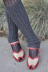 Not just one, but two discontinued items! The leg warmers were from Breaux, and the tights were from Foot Traffic. Don't be sad - you can still get the knee high version of the tights: http://www.sockdreams.com/products/zurich-trouser-socks