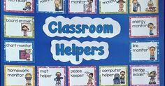Classroom Jobs  plus editable cards (44 cards). Classroom jobs can teach students about responsibility, teamwork, and the value of keepi...