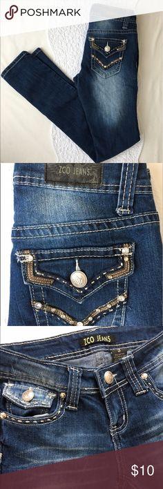 Selling this ZCO SKINNY JEANS, SZ 3 on Poshmark! My username is: elegantcouture. #shopmycloset #poshmark #fashion #shopping #style #forsale #ZCO #Denim