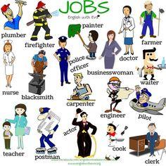 ESL, EFL, Vocabulary, English, Jobs, English with Eva