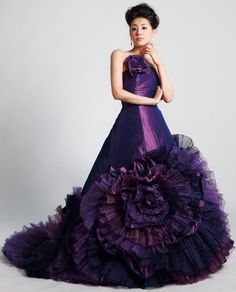 Purple Yumi Katsura dress
