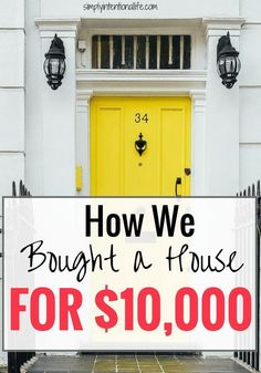 If you are looking to buy a home or invest in real estate, check out this post on how to buy houses for cheap.