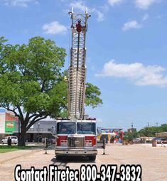 2000 E-One Sidestacker Aerial for Sale Call or text us at for more information on Fire Trucks For Sale, Fire Apparatus, Fire Department, Lp, Building, Travel, Fire Dept, Viajes, Firetruck