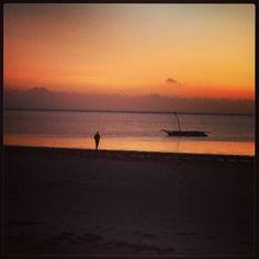 Dawn in Zanzibar