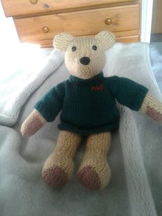 Teddy bear made for my old high school :)