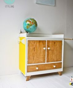 vintage commode 091701W | Stip styling