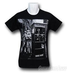 ba0d2430 Images of Star Wars Vader Phone Booth T-Shirt Star Images, Darth Vader,