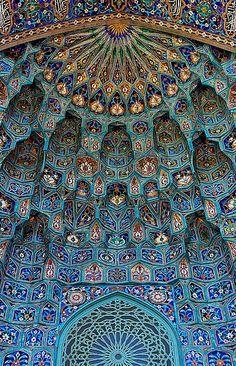 Saint Petersburg Mosque, Russia.