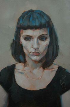 Simon Davis Painting People, Woman Painting, Figure Painting, Portrait Sketches, Portrait Art, High Art, Art Oil, Face Art, Art Images