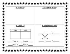 Number sense worksheet