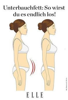 Even if we do not quite believe it, the fat on the belly is vital. It protects the internal organs and is an important energy source for the body. But a surplus of so-called visceral fat under the abd Fitness Workouts, Yoga Fitness, Fitness Motivation, Health Fitness, Workout Gear, Training Fitness, Visceral Fat, Loose Weight, How To Get Rid