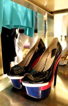 #Donatella Versace #FW12 #Heels #Johnny Valencia #Leather #Luxury #Medusa #Perfection #SS12 #Shoes #Stilettos #The LA Fashion Report #Versace #shoeporn #p #The higher the heel the closer to God #Platform #Peep-toe