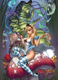 Fairytale Fantasies - Alice in Wonderland