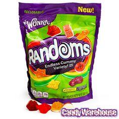 Wonka Randoms Gummy Candy: 10-Ounce Bag | CandyWarehouse.com Online Candy Store